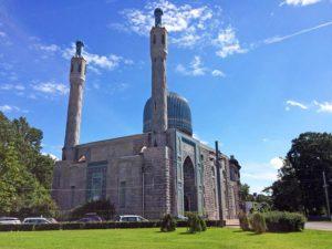 Die größte Moschee in Sankt-Petersburg, Russland