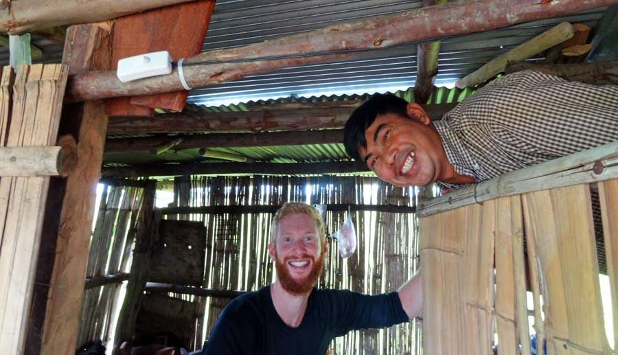 Sebastian und Narath, ohne den wir dieses Projekt niemals hätten finden und umsetzen können