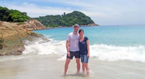 Traumhafter Strand auf den Perhentians in Malaysia