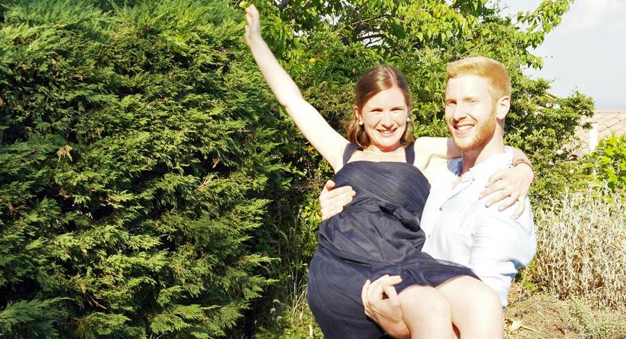 Hochzeit in Südfrankreich kurz vor der Weltreise
