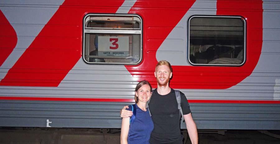 Mit der Transsibirischen Eisenbahn von Moskau bis zum Baikalsee