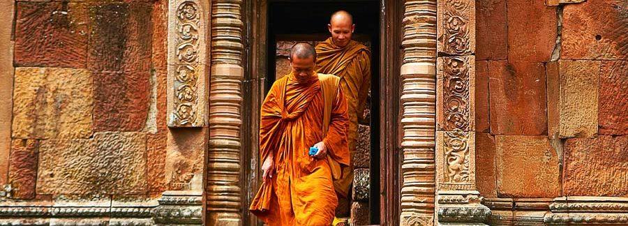 Buddhismus ist die Hauptreligion in Thailand