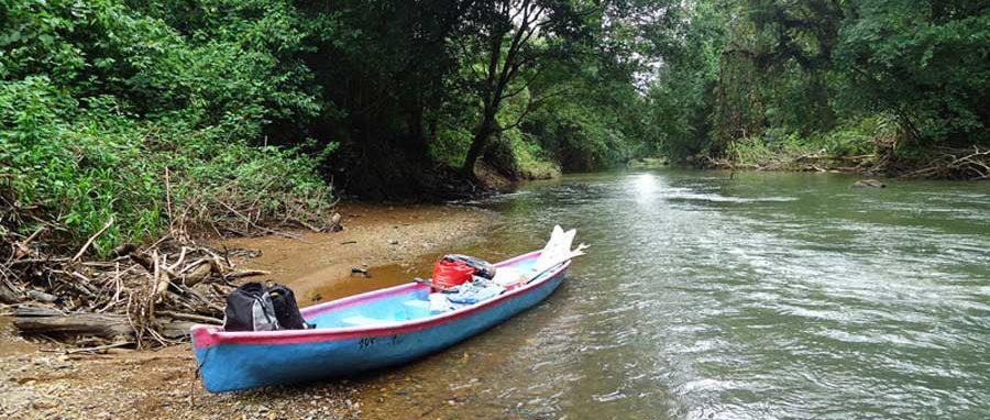 Der Rio San Juan im Süden von Nicaragua