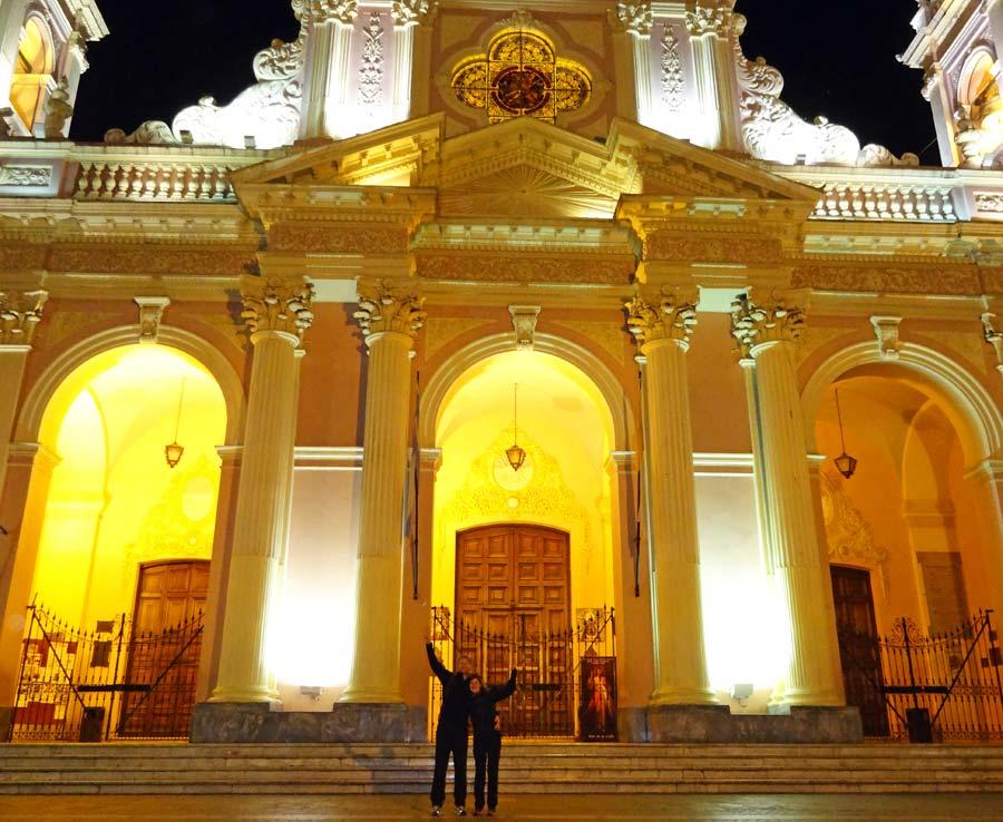 Wunderschoene Kolonialarchitektur in Salta