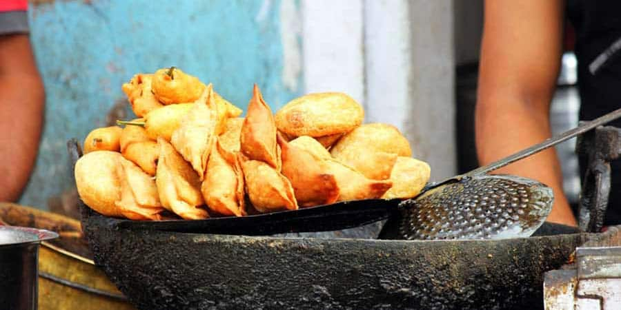 Leckere Samosas in Nepal