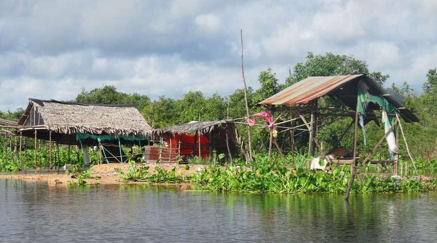 Die schwimmenden Dörfer auf dem Tonle Sap in Kambodscha