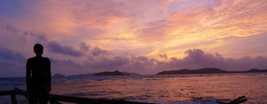 Sonnenuntergang Koh Mak Thailand