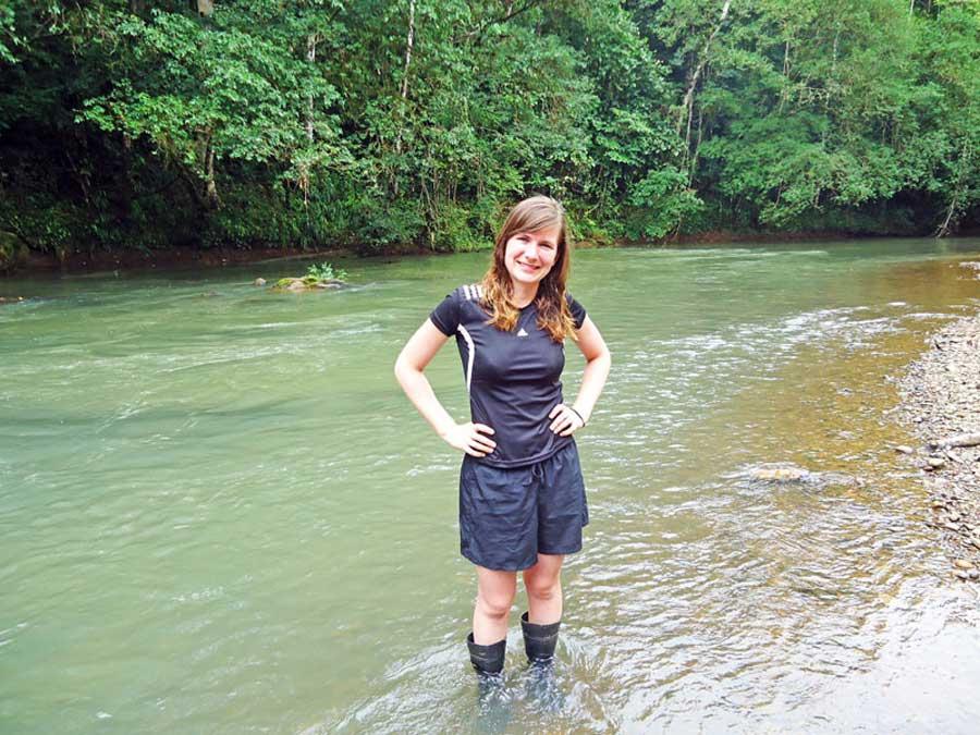 Survival-Camp im Dschungel des Rio San Juan in Nicaragua