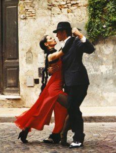 Tango-Tänzer in Buenos Aires, Argentinien