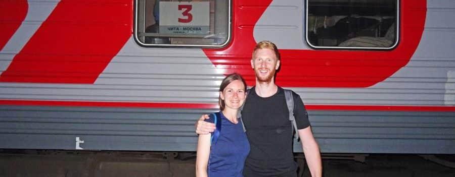 Die Fahrt mit der Transsibirischen Eisenbahn von Moskau bis zum Baikalsee