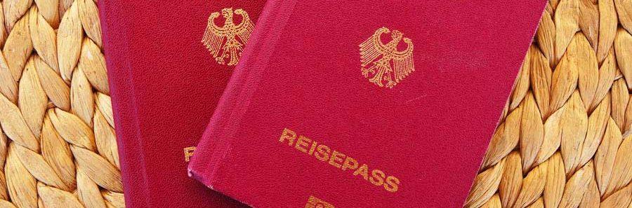 Reisepass für Visaantrag nach Russland