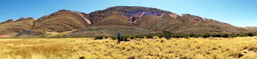 Nordargentinien: Wellenförmige Felsen prägen das Landschaftsbild um Tres Cruces