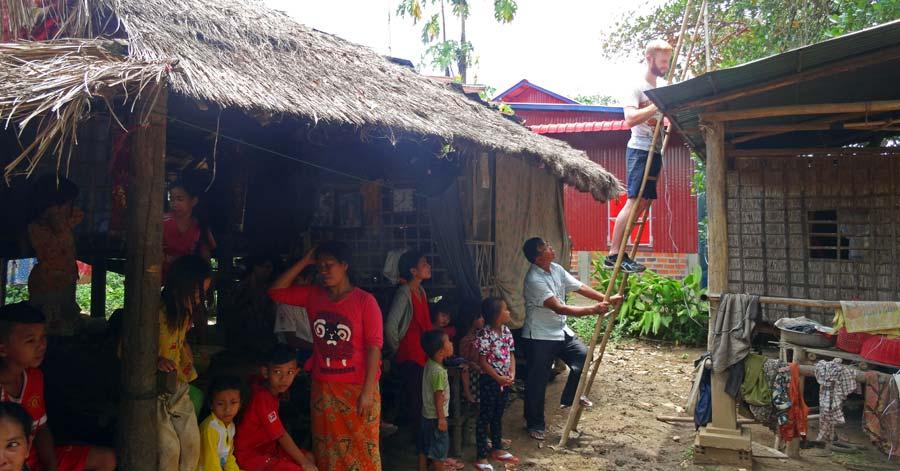 Battambang Kambodscha: Wir haben insgesamt 8 Solaranlagen in Battambang installiert