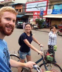 Eine schöne Fahrrad-Tour durch Kampot