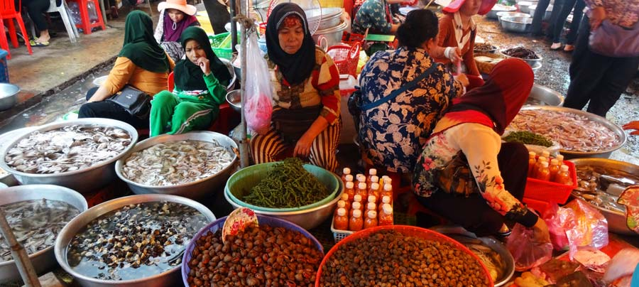 Kampot: Auf dem Makt