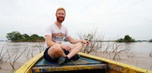 Kosten Kambodscha: Der Transport geht auch mit dem Boot!