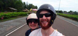 Eine Moped-Tour um Kampot