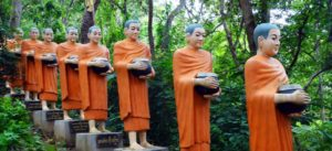 Buddhistische Statuen in Kambodscha