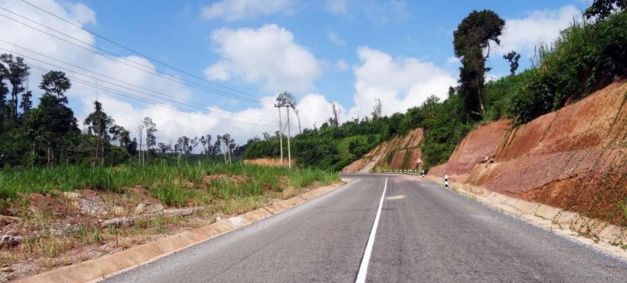 Thakhek Loop: Straßen im guten Zustand