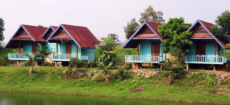 The Loop: Guesthouse Phosy Thalang auf der Thakhek Route