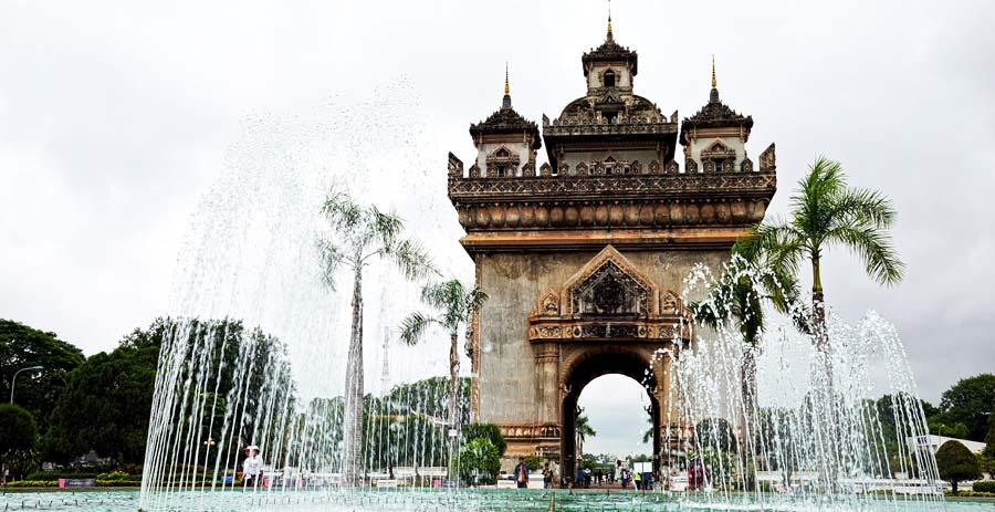 Die Hauptstadt von Laos: Vientiane