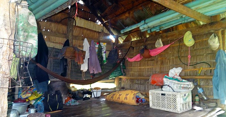 Solar Kambodscha: Die Hütte des alten Farmers