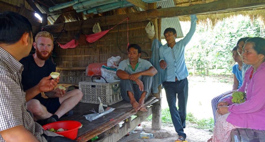 Solar Kambodscha: Als Dank gab's frische Orangen