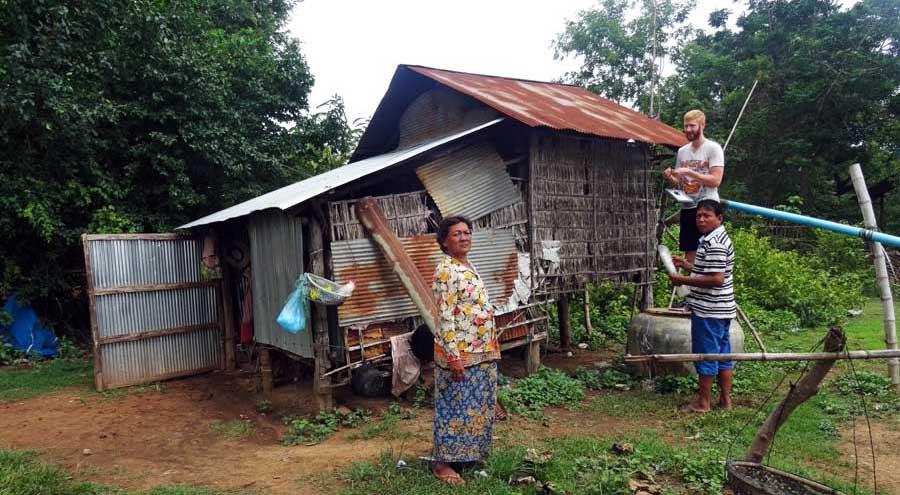 Hilfe durch Solarenergie