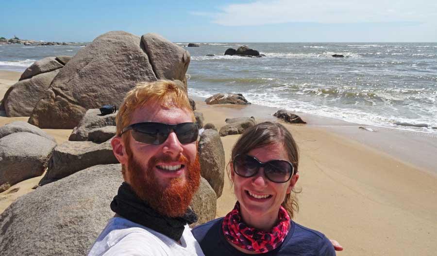 Anne und Sebastian in Vietnam
