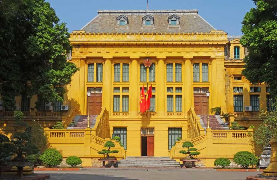 Hanoi Vietnam: Kolonialarchitektur