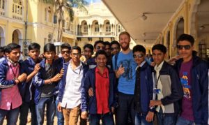 Reise-Lebenslauf Indien