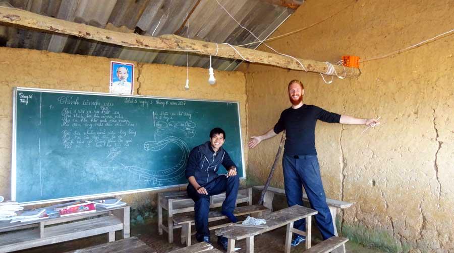 Abenteuer Vietnam: Unser Helfer Van