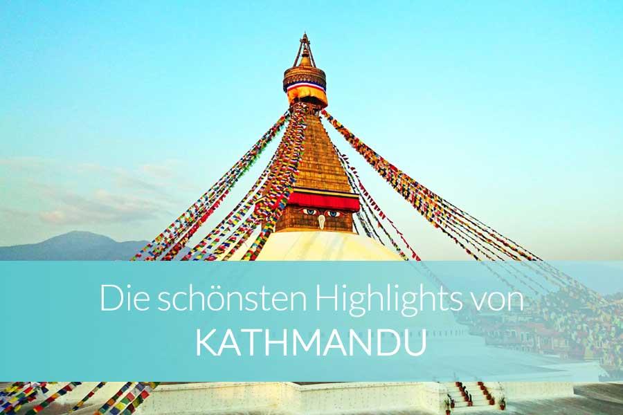 Kathmandu Sehenswürdigkeiten: die schönsten Highlights - Bergsteiger am Mount Everest im Himalaya
