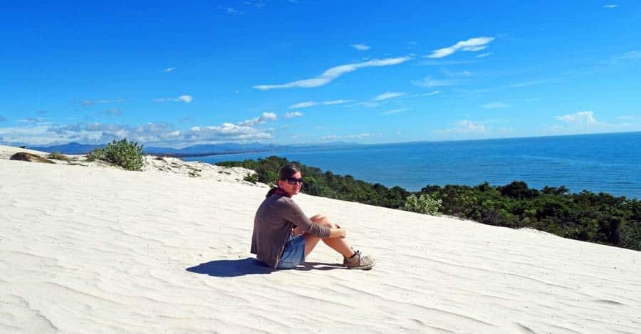Ortsunabhängig Arbeiten & Leben: Weißer Strand