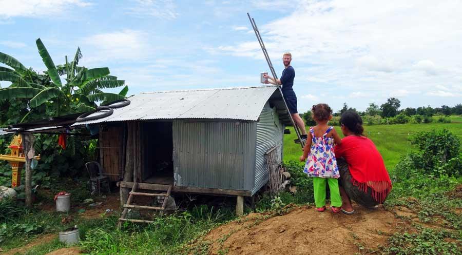 Ortsunabhängig Arbeiten & Leben: SunHelp Kambodscha