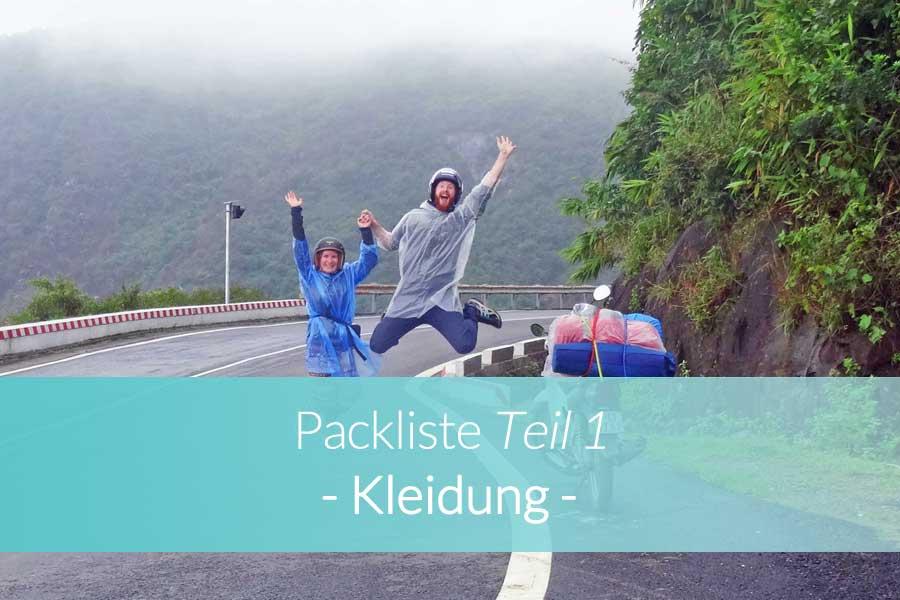Packliste Kleidung - Beitragsbild
