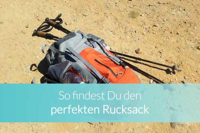 Der perfekte Rucksack für die Reise - Beitragsbild