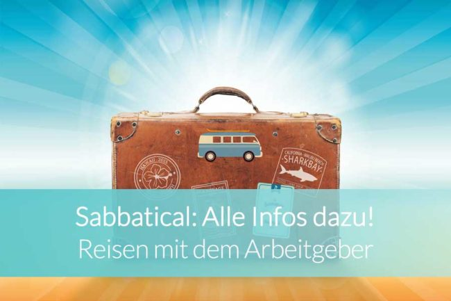 Sabbatical - Beitragsbild