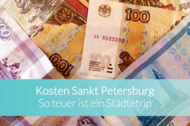 Sankt Petersburg Kosten - Beitragsbild