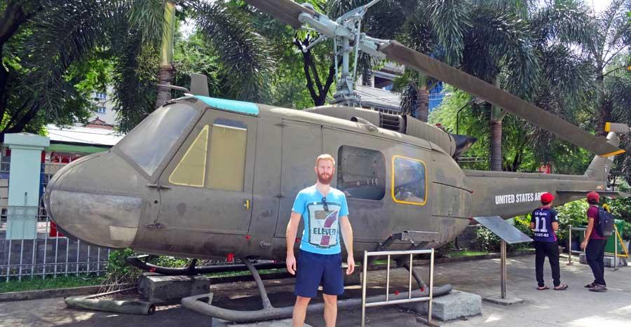 Vietnam Sehenswürdigkeiten: Kriegsmuseum in Ho Chi Minh