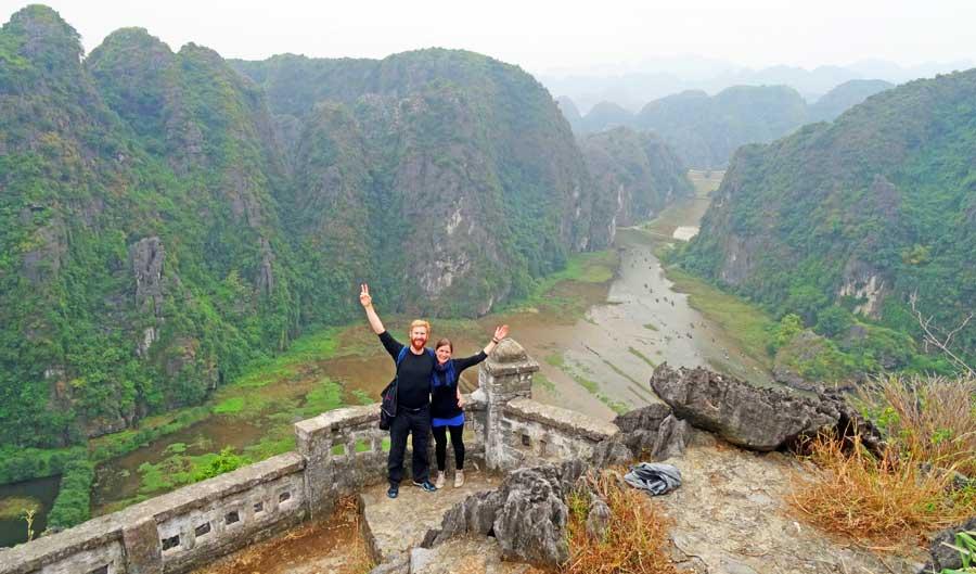 Vietnam Sehenswürdigkeiten: Tam Coc