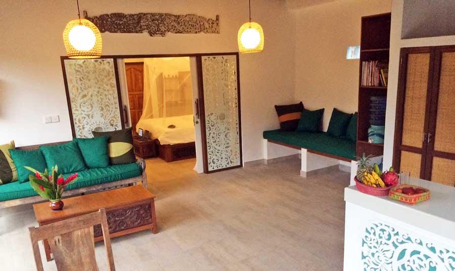 Bali Online Reiseführer: wunderschöne Unterkunft in Ubud