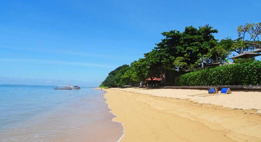 Bali Online Reiseführer: Traumhafter Strand bei Sanur