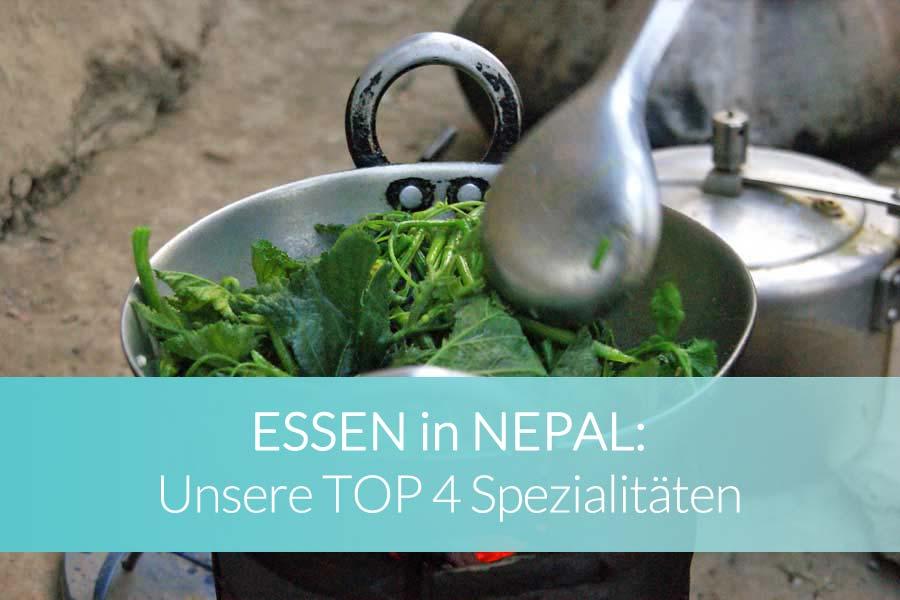 Essen Nepal: Beitragsbild - Bergsteiger und Trekker im Himalaya Mount Everest