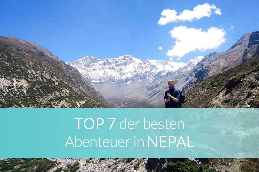 Aktivitäten Nepal: Beitragsbild - Bergsteiger am Mount Everest im Himalaya