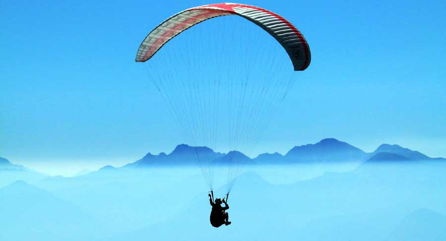 Aktivitäten Nepal: Paragliding