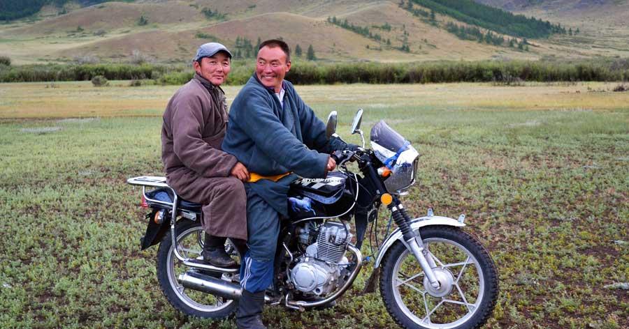 Aktivitäten Nepal: Motorrad