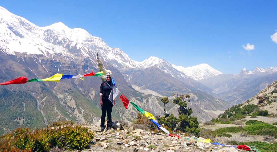 Nepal Reisezeit: Schönes Wetter