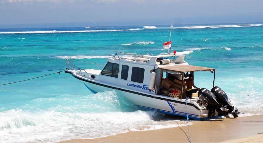 Nusa Lembongan & Nusa Ceningan: Fähre