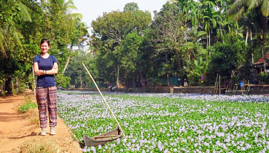 Südindien Rundreise: Backwaters von Kerala
